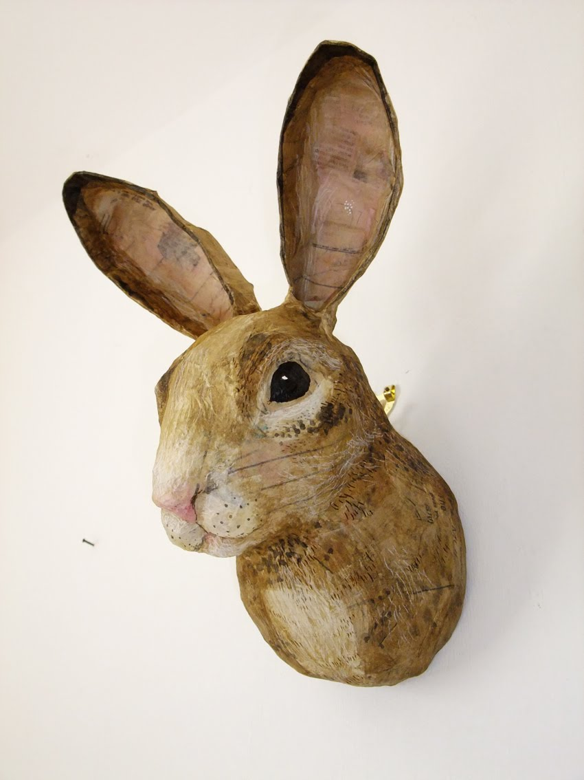 rabbit head profile